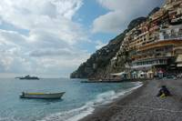 Positano at sea level