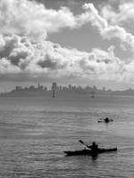 San Franciscan kayakers
