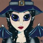 """Blue Witchling"" by Bronwen"