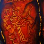 """INCA GOD"" by Dalgisart"