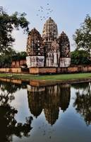 Khmer Temple Reflection - Sukhothai