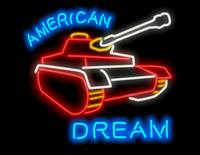 American Dream neon sign (Tank Version)