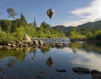 Hot Air Ballooning, American River