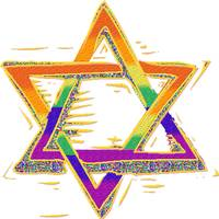 Rainbow Star of David