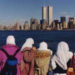 """Children in Awe of the World Trade Center"" by lizphotography"