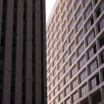 """""""Century City High-Rises Graphic Detail in Morning"""" by atonalarts"""