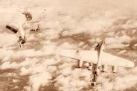 B-24 Liberator shot down by a Me 262