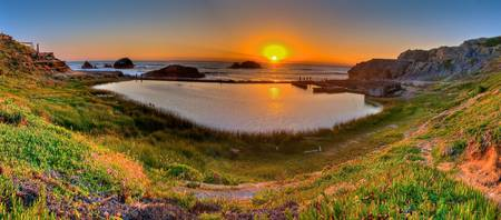 Sutro Baths HDR sunset Pana
