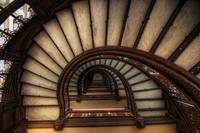 HDR of Rookery Stair Case
