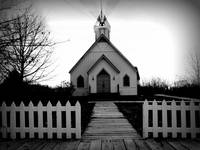 Little church B&W