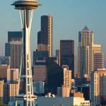 """Space Needle from Kery Park 29"" by seattlephotographs"