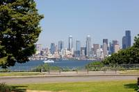 Downtown Seattle from Hamilton Park 101