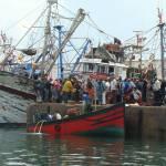 """""""Moroccan fishermen"""" by sail"""