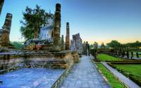 Sukhothai Historical Park at Dusk 2
