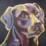 """Labrador"" by Morianart"