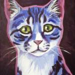 """Blue Tabby"" by Morianart"