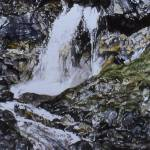 """Gordale Scar  100 Waterfalls"" by kenart"