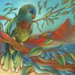 """St Lucia Parrot"" by ArmenKojoyian"