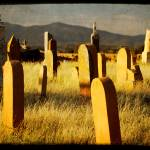 """Galisteo Cemetery Headstones"" by WillAustin"