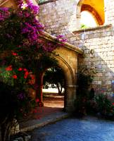 Filerimos Monastery Island of Rhodes Greece
