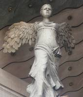 Beautiful Romantic Renaissance Angel Face, Roma, I