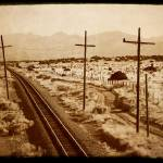"""Santa Fe Railroad Sepia"" by WillAustin"