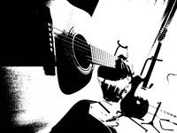 Two Guitars - The Groovyal B/W Series