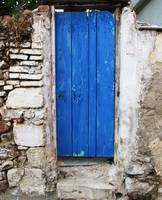 BLUE DOOR Old Town of Chania, Crete