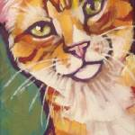 """Orange Tabby"" by Morianart"