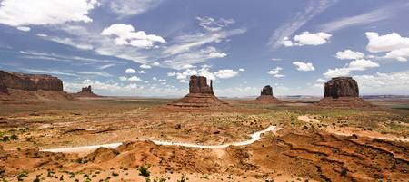Monument Valley Wide Angle