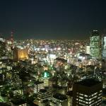 """A night view on Ginza from Atago Tower"" by rein"