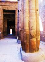 Luxor Temple of Thebes in Egypt