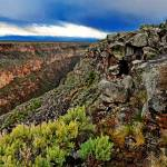 """Rio Grande Gorge Horizontal"" by WillAustin"