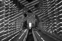 Corn Crib in BW