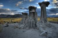 Sand Tufas at Mono Lake