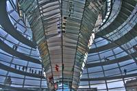 Berlin 2009 - inside Reichstag Dome