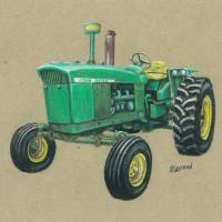 Deere 4020 Art Prints & Posters by L. R. Griffin
