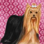 """Show Dogs Yorkshire Terrier"" by shariwarren"