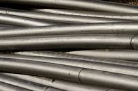 Abtract Industrial Tubing
