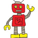 """robot"" by StikMan"
