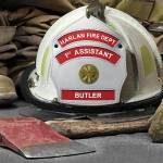 """Harlan Fire Department 1st Assistant Butler"" by BJolly"