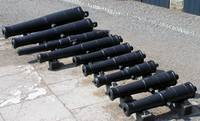 Cannons in Line