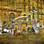 """Barcelona- Las Ramblas"" by antoni63"