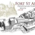 """Fort St. Angelo, Malta"" by MilitaryArchitecture"