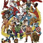 """Mighty Marvel Convention 1975"" by AtomicKommieComics"