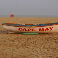 """Cape May Lifeboat "" by Donald Mark Stevenson"