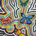 """Abstract Butterflies"" by Smoocherpoo"
