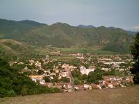 Malinalco Town as Seen from the Second Building