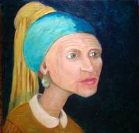 Grandmother with a Pearl Earring