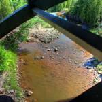 """Underneath the highway bridge"" by Korayem"
